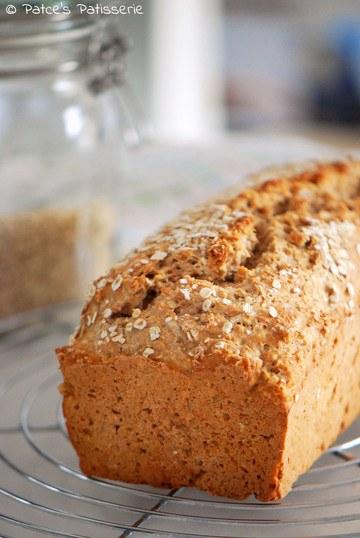 Rezept Dinkel-Haferbrot ohne Hefe und mit Buttermilch