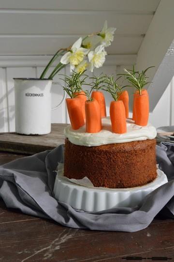 Rezept Dinkel - Karottenkuchen