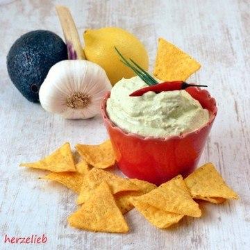 Rezept Dip, Dip - Hurra! Avocado-Frischkäse