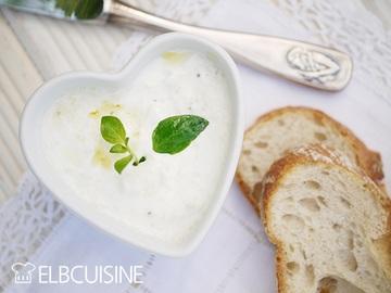 Rezept Dippen ist angesagt – Auberginen im weißen cremigen Gewand, mit 3 Zutaten zur leckeren Vorspeise aus Gemüse