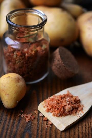 Rezept DIY - Bratkartoffelsalz