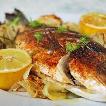 Rezept Dorade mit Kartoffel-Fenchel-Gemüse