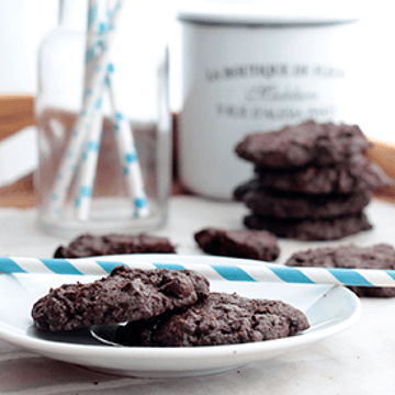 Rezept Double Chocolate Cookies