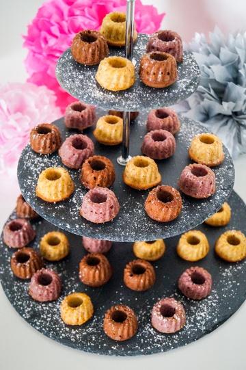 Rezept Dreierlei Gugl - Himbeer, Baileys & Schokolade