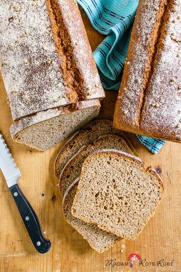 Rezept Dreikorn-Vollkornbrot mit Koriander – schnell und schmackhaft