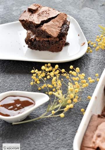 Rezept Dulce de Leche Brownies