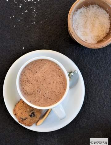 Rezept Dulce de Leche Hot Chocolate mit Schuss