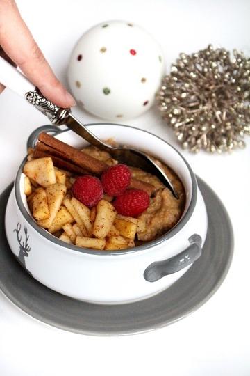 Rezept Dunkles-Maisgrieß-Porridge
