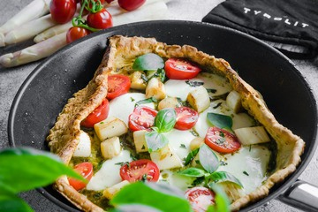 Rezept Dutch Baby Spargel Pizza