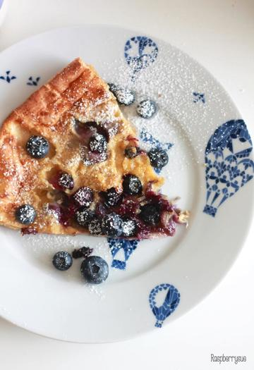 Rezept Dutch Blueberry Pancake