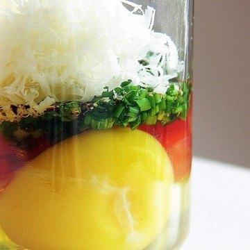 Rezept Ei im Glas