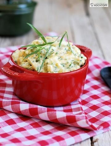 Rezept  Eier hart dämpfen (KCC Gourmet) & Rezept für Eiersalat