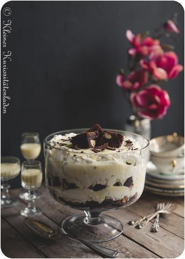 Rezept Eierlikör-Brownie-Trifle