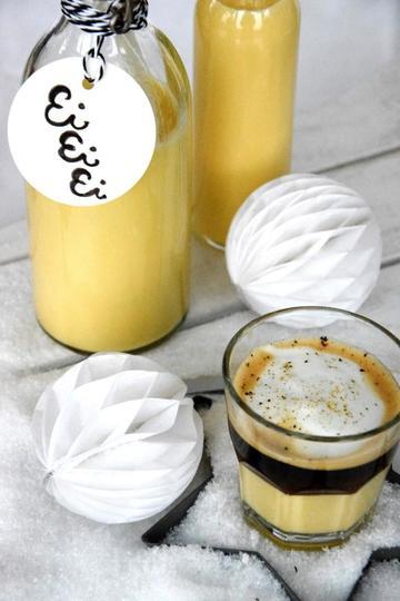 Rezept Eierlikör mit Tonkabohne und Bombardino