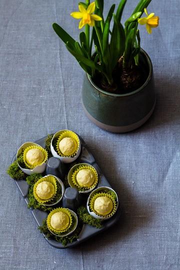 Rezept Eierlikör-Pralinen mit Passionsfrucht