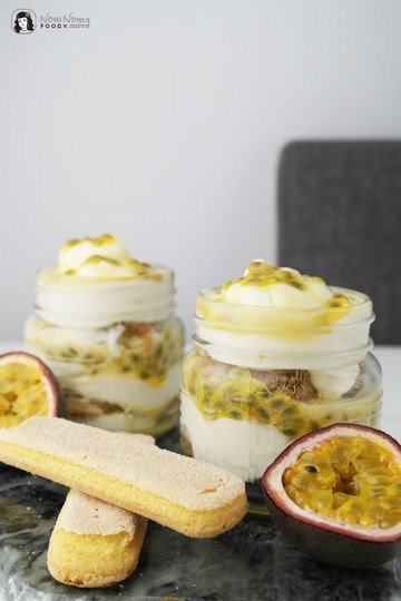 Rezept Eierlikör-Tiramisu mit Maracuja oder Passionsfrucht