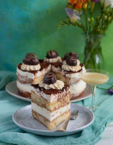Rezept Eierlikör Tiramisu Torte