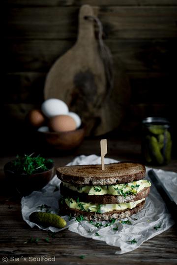 Rezept Eiersalat Sandwich