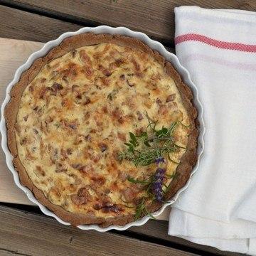Rezept Eierschwammerl-Tarte