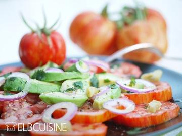 Rezept Ein Ausflug in die Karibik mit herrlichen Tomaten – mal nicht die einfache Caprese, die jeder kennt