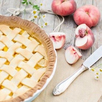 Rezept Ein superleckerer Pfirsich-Pie