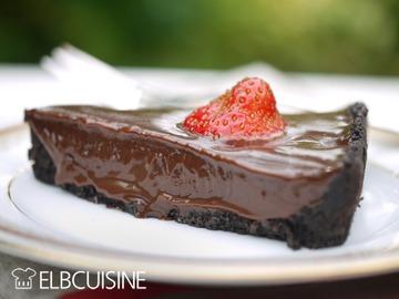 Rezept Eine köstliche Sünde – Oreo-Erdbeer-Schokolade-Tarte