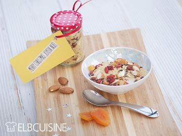 Rezept Eine neue Geschenk-Idee aus der Küche – Frühstücks-Couscous