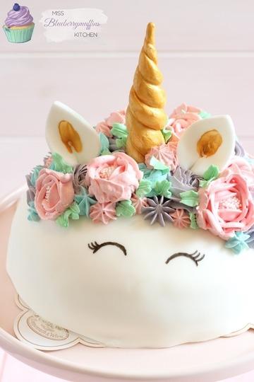 Rezept Einfache Einhorn-Torte