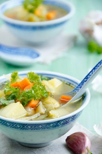 Rezept Einfache Gemüsesuppe