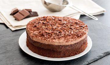 Rezept Einfache Schokoladentorte