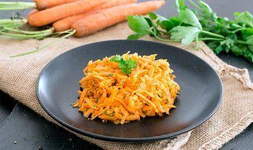 Rezept Einfacher Karottensalat