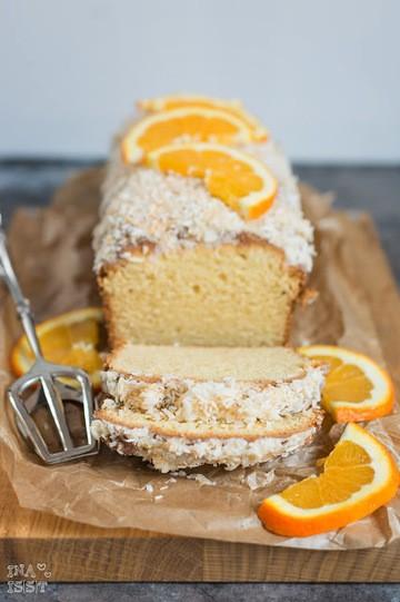 Rezept Einfacher Orangen-Kokos-Kuchen