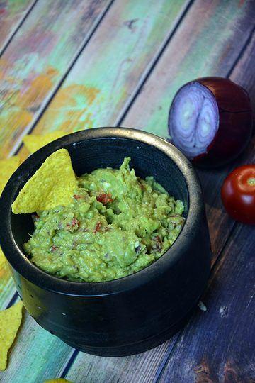 Rezept Einfaches Guacamole Rezept