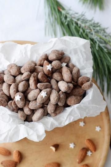Rezept Einfaches Rezept für schokoladige Weihnachtsmandeln (aus nur 3 Zutaten!)