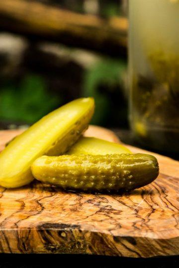 Rezept Eingelegte saure Gurken nach polnischer Art