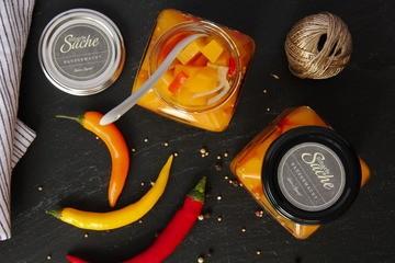 Rezept Eingelegter Kürbis hot & spicy