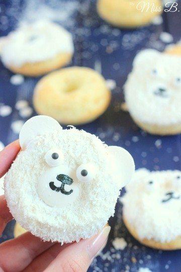 Rezept Eisbär-Donuts