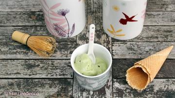Rezept Eiskalter Teegenuss: Matcha-Eis