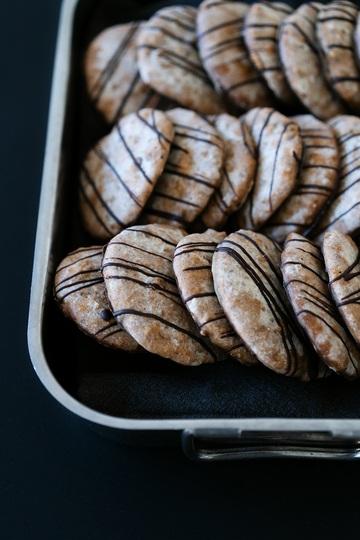 Rezept Elisenlebkuchen mit Marzipan, Datteln und Ingwer