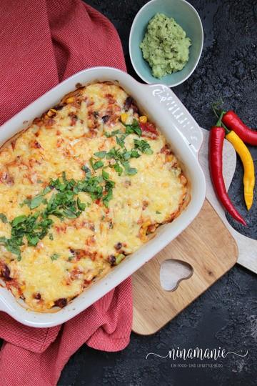 Rezept Enchiladas – leckere gefüllte Maismehltortillas