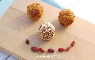 Rezept Energyballs mit Gojibeeren – himmlisch lecker