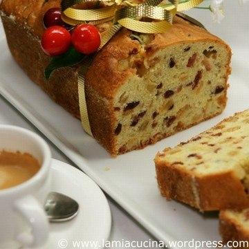 Rezept English Cake mit Preiselbeeren
