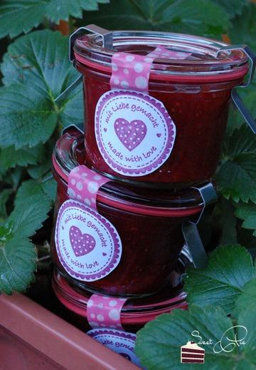 Rezept Erdbeer Balsamico Marmelade