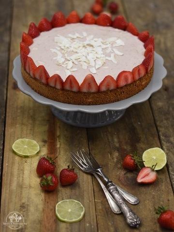 Rezept Erdbeer-Biskuit-Traum