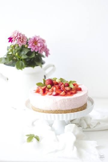 Rezept Erdbeer Cheesecake