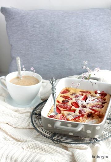 Rezept Erdbeer Clafoutis