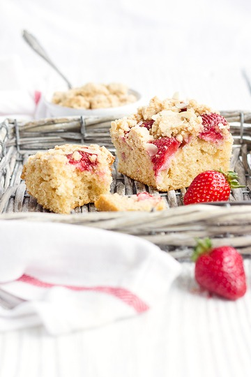 Rezept Erdbeer-Grießkuchen