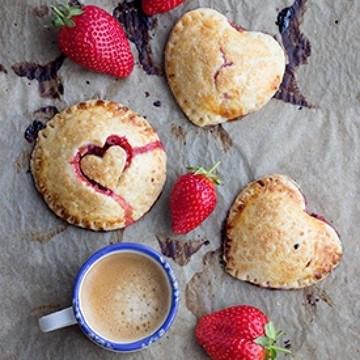 Rezept Erdbeer Hand Pies