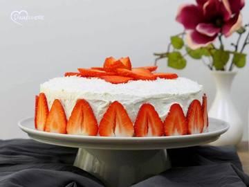 Rezept Erdbeer-Kokos-Torte
