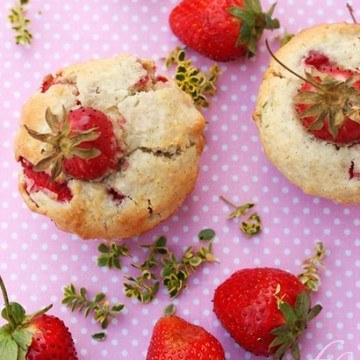 Rezept Erdbeer-Kokosmuffins